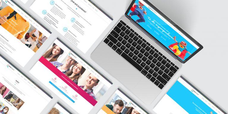 diseño-web-academia-ingles