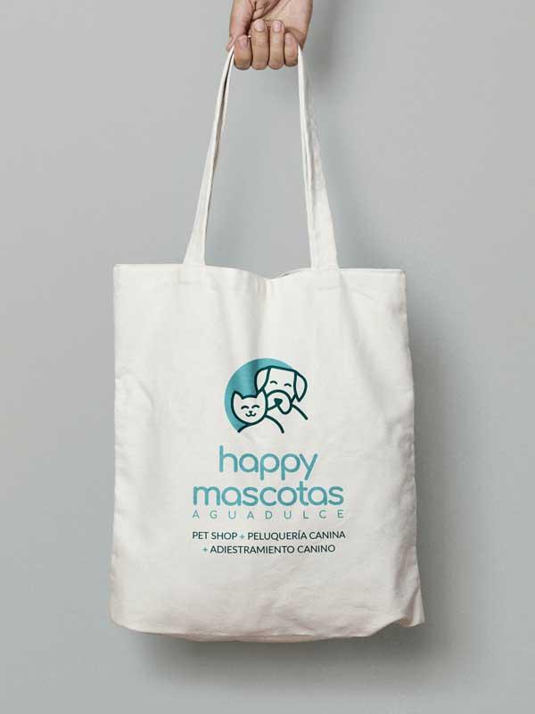Tote bag Happy Mascotas Aguadulce Pet Shop